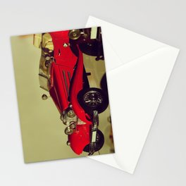 Vintage scale-model car collection - Nostalgic Photography Stationery Cards