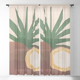 Cocconut Sheer Curtain