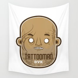 T A T T O O M A N Wall Tapestry