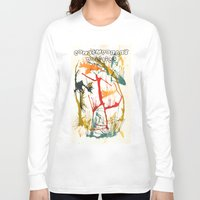 contemporary Long Sleeve T-shirts featuring Contemporary Politics by Andready