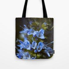 Blue True. Tote Bag