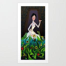 Scary Mary Art Print
