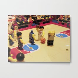 Oh my lego ! Don't do that ! Metal Print