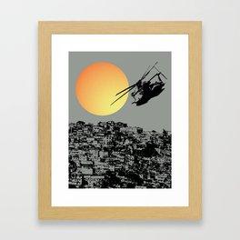 Slum Dog Framed Art Print