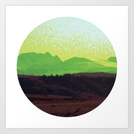 High Plains Drifter Art Print