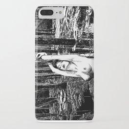 asc 385 - La fille des marais (Beautiful and poisonous) iPhone Case