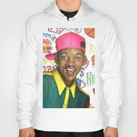 fresh prince Hoodies featuring Fresh Prince of Bel Air - Will Smith by Heather Buchanan