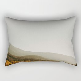 The Faded Forest on a River (Color) Rectangular Pillow