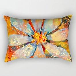 A New Day Flower Rectangular Pillow