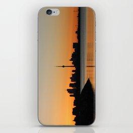 Toronto sunrise iPhone Skin