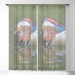 Mandarin Sheer Curtain