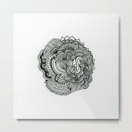SwankyDoodleSandy Ss Fans and Culs Metal Print