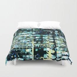 City Never Sleeps 1 Duvet Cover