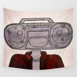 Radio-Head Wall Tapestry