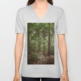 Forest Trail Unisex V-Neck