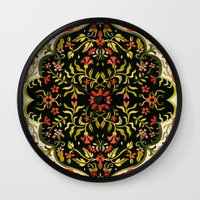 rug Wall Clocks featuring Turkish Rug by AITCH