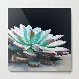 Succulent Jewel I Metal Print
