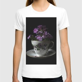 Botanical Tea Cup T-shirt