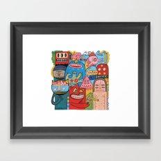 Mêmsac  Framed Art Print