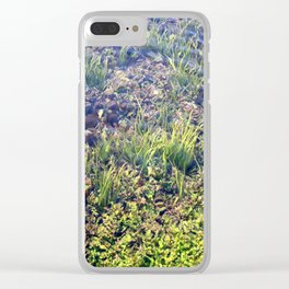 Going With The Flow River Aquarium Clear iPhone Case