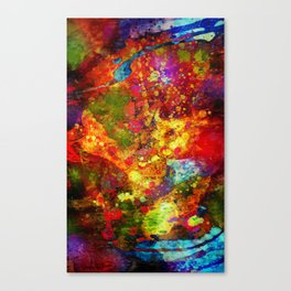 The Eye Of Craziness Canvas Print