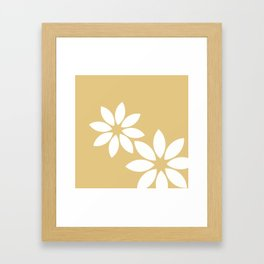 Flora2 Framed Art Print