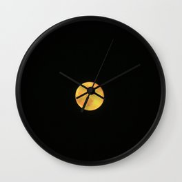 Honey Moon Wall Clock
