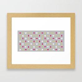 Keyblade Wars Framed Art Print