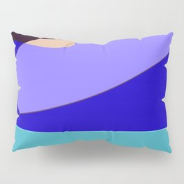 Minimal With Blue Pillow Sham