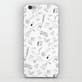 School pattern iPhone Skin