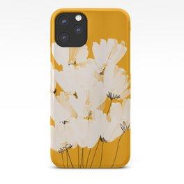 Flowers In Tangerine iPhone Case