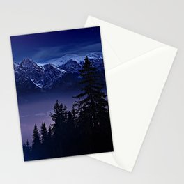 The Mountain's Dream Stationery Cards