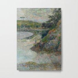 The Banks of River Aven Metal Print