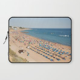 Albufeira beach Portugal Laptop Sleeve
