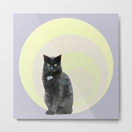 """Resting bitch face"" cat Metal Print"