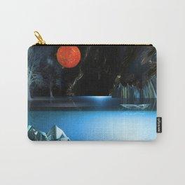 3d Art Digital Art Cave Lake Carry-All Pouch