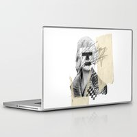 kate moss Laptop & iPad Skins featuring Kate Moss by FAMOUS WHEN DEAD