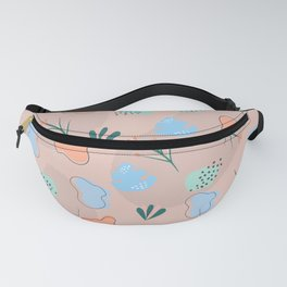 Floral pattern and shapes Fanny Pack