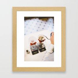 V60 - Handbrew Framed Art Print