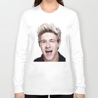 niall horan Long Sleeve T-shirts featuring Niall Horan - One Direction by jrrrdan