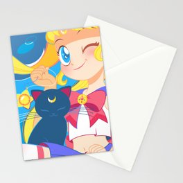 Sailor Moon by Bunny Stationery Cards