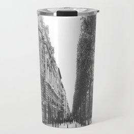 Champs Elysées in Paris: a street view Travel Mug