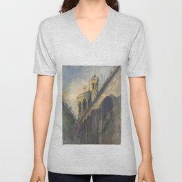 Castle Unisex V-Neck