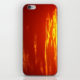 Bloody Sky iPhone Skin
