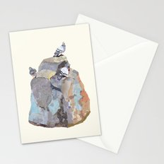The Pigeon on a Rock Stationery Cards