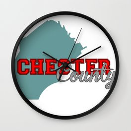 Chester County Wall Clock