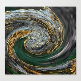 TWIRLED Canvas Print