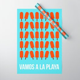 Vamos a la playa Wrapping Paper