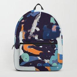 Nordic Goddes- Blue- Orange-Green Backpack