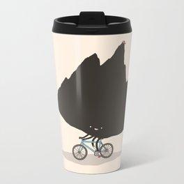 Mountain Biking Metal Travel Mug